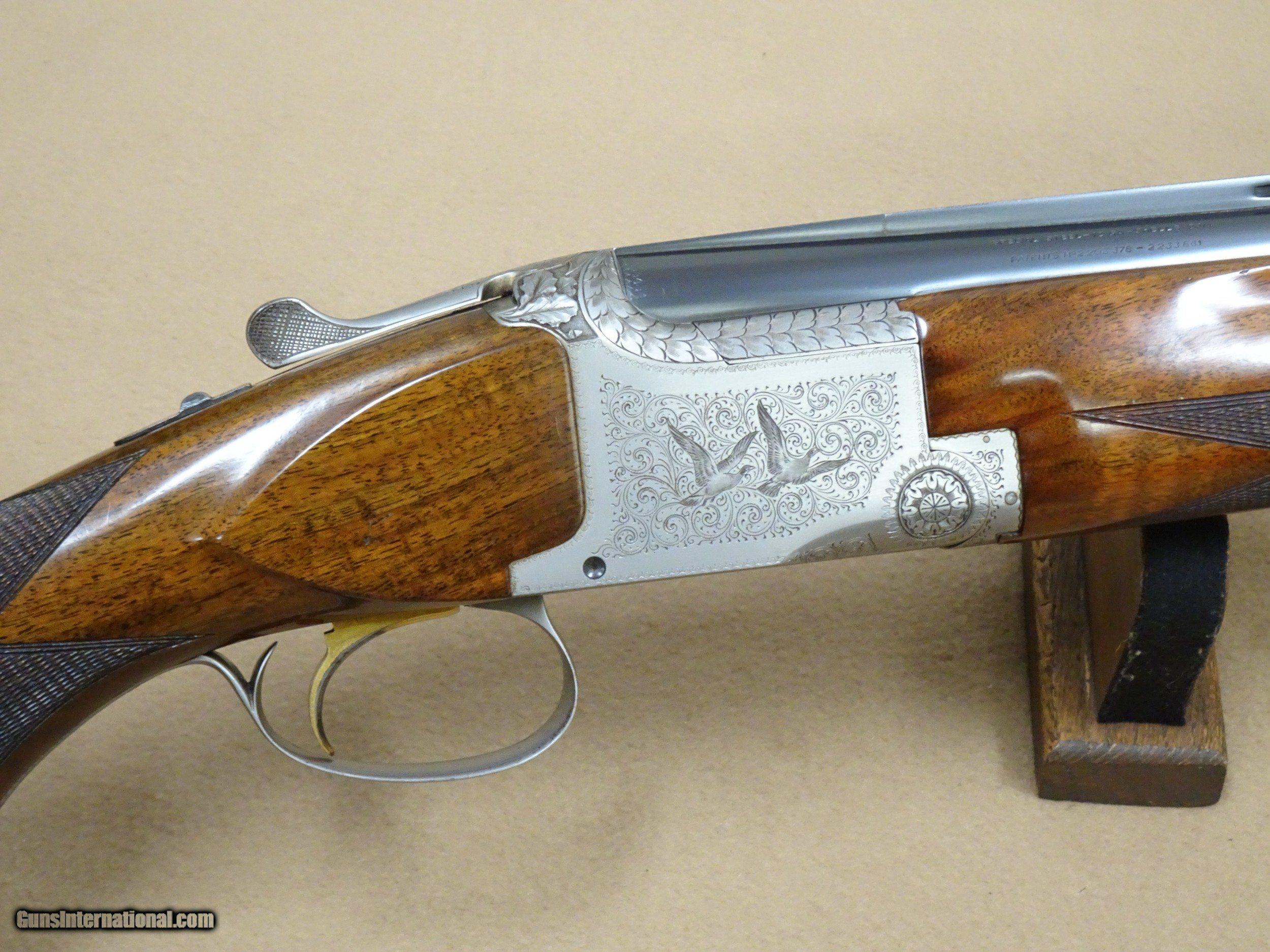 1965 Browning Superposed Pigeon Grade Trap Model 12 Ga