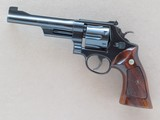 Smith & Wesson .357 Magnum Model 27, 6 Inch Barrel, 27-2