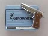 Browning BDA, Nickel Finished, Cal. .380 ACP