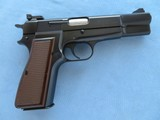 Browning Hi Power P35 9MM W/ Adjustable Sights Belgium Made **MFG. in 1986** SOLD