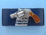 """Smith & Wesson Model 64-4 M&P .38 Special Stainless 2"""" Barrel **MFG. 1993 w/ Box** SOLD"""