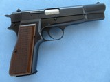 Browning Hi Power P35 9MM W/ Fixed Sights **Belgium Made in 1980**