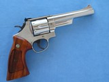 "Smith & Wesson Model 29-6 44 Magnum Nickel 6"" Barrel **MFG. 1983**"