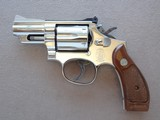 "1983 Smith & Wesson Factory Nickel 2.5"" Model 19-5 .357 Magnum Revolver