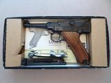 "1975 Vintage Stoeger Luger STLR-4 .22 Caliber Pistol w/ Box & Paperwork** Unfired & Mint ""Time Capsule"" Pistol! **"