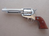 "1995 Ruger Stainless Old Model Vaquero 5.5"" in .45 Colt w/ Box & Manual
