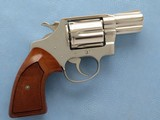 Colt Detective Special (Third Issue) .38 Special Nickel finish **MFG. in 1976**