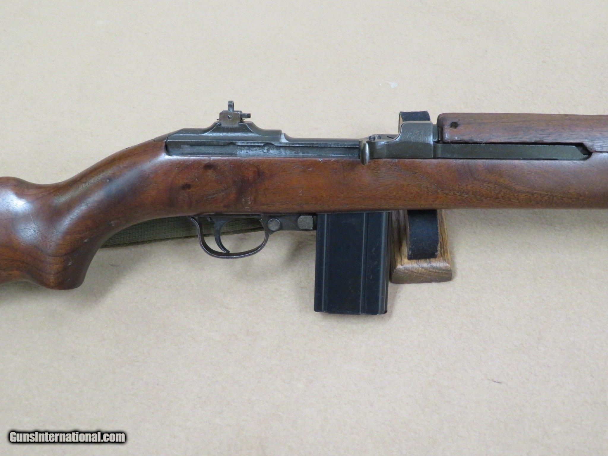WW2 Standard Products M1 Carbine (1st production block