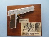 ANIB Browning Centennial Model Hi Power 9MM Chrome Finish **Belgium Made in 1978**