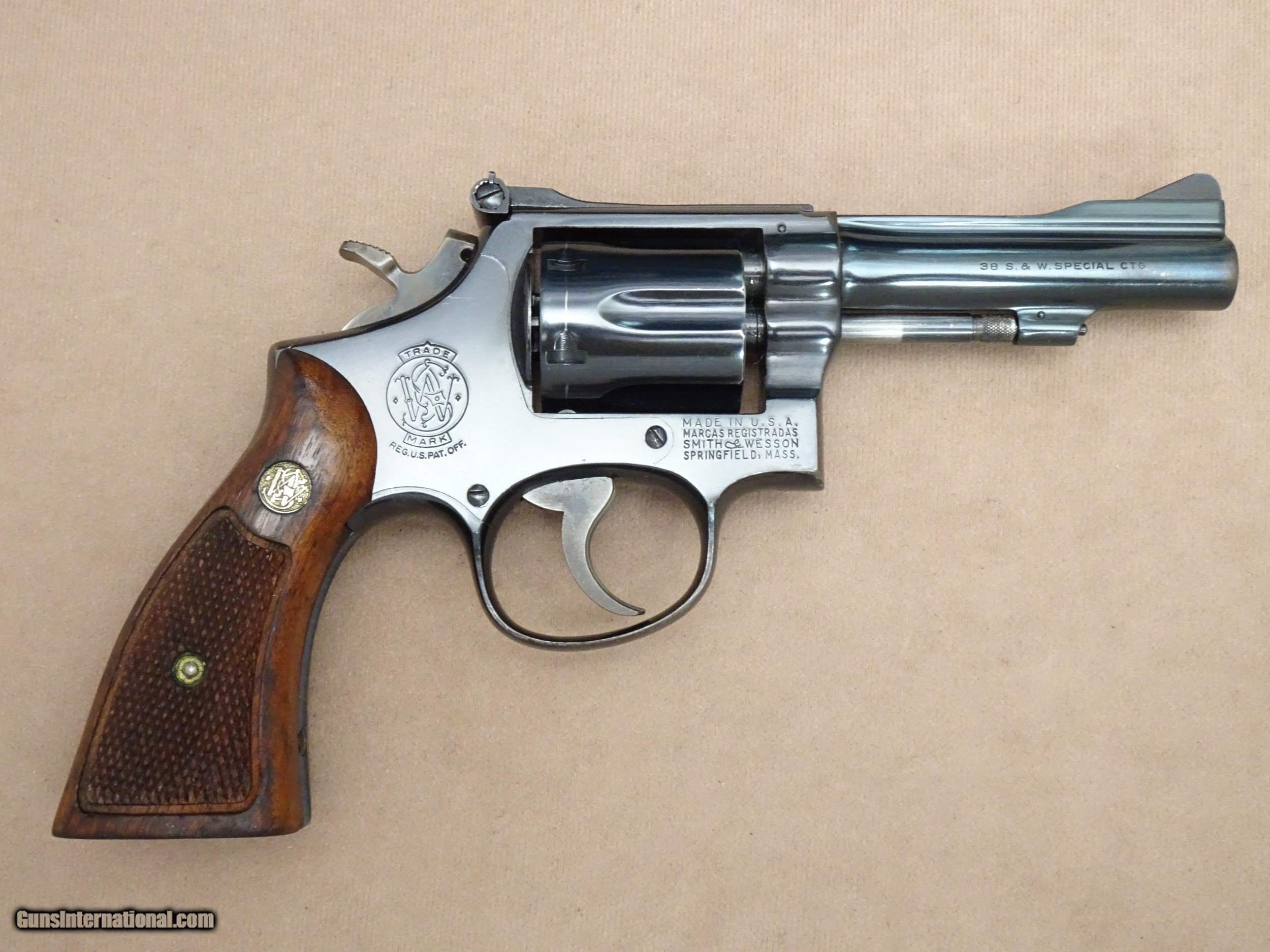 1971 Smith & Wesson Model 15-3 K-38 Combat Masterpiece in