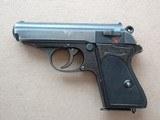 World War 2 Walther Duraluminum PPK .32 ACP** Rare Dural Frame Nazi PPK **