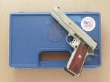 Smith & Wesson Model SW 1911, CAL. .45 ACP, 5 Inch Barrel, Stainless Steel