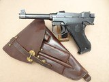 1946 Danish Police Husqvarna M40 Lahti 9mm Pistol Complete Rig** Nice Original Danish Police Lahti Rig! **