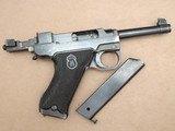 1946 Danish Police Husqvarna M40 Lahti 9mm Pistol Complete Rig** Nice Original Danish Police Lahti Rig! ** - 21 of 25