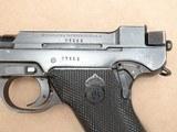 1946 Danish Police Husqvarna M40 Lahti 9mm Pistol Complete Rig** Nice Original Danish Police Lahti Rig! ** - 4 of 25