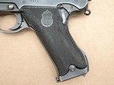 1946 Danish Police Husqvarna M40 Lahti 9mm Pistol Complete Rig** Nice Original Danish Police Lahti Rig! ** - 3 of 25