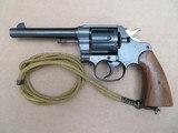 1918 WW1 Colt Model 1917 Revolver .45 ACP w/ Holster, Lanyard, & Web Belt** Stunning Original 1917 Colt!! **SOLD - 2 of 25