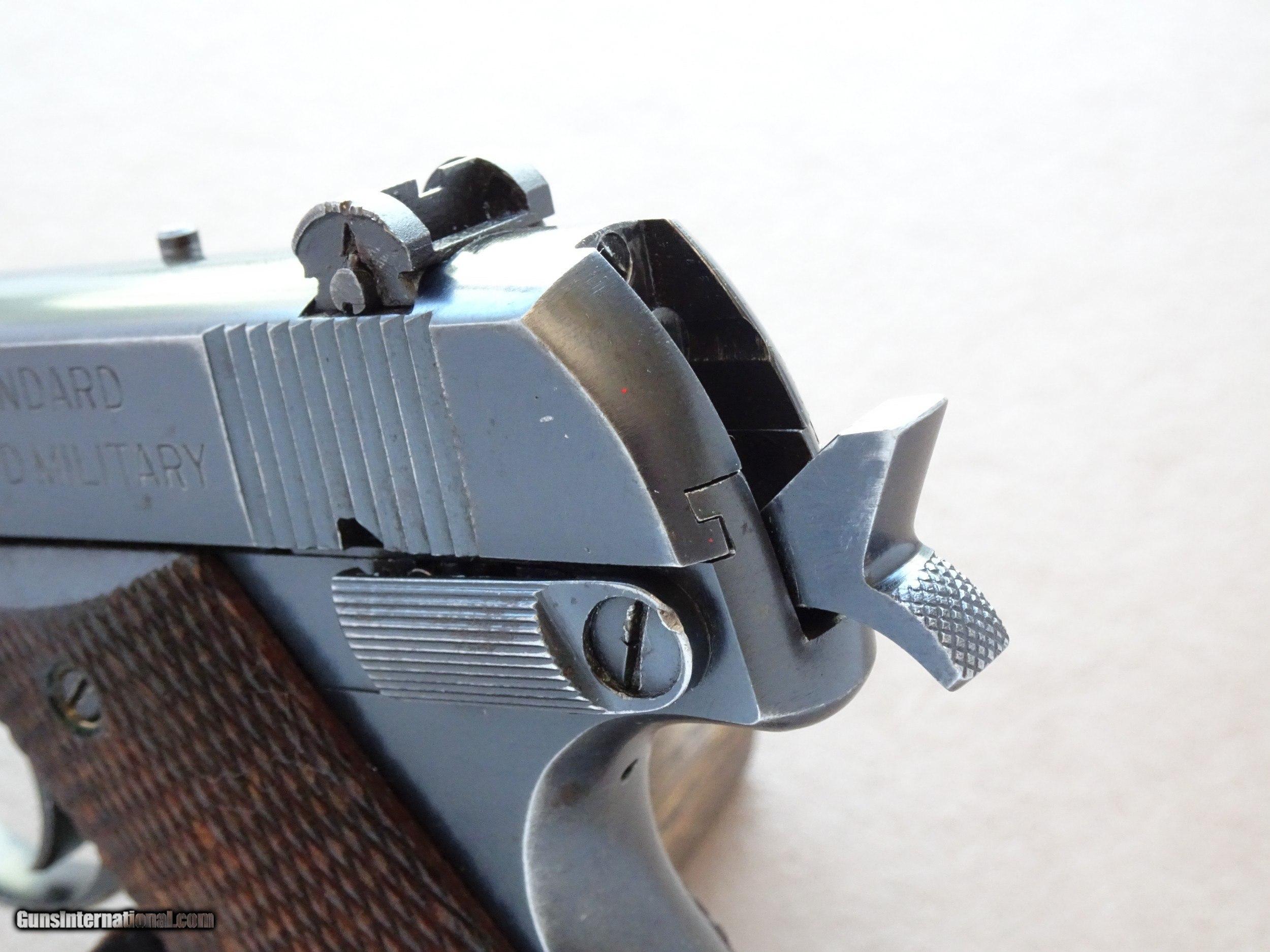 Early 1950's Vintage Hi Standard H-D Military  22 LR Pistol ** Nice