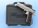 Sig Sauer 1911 Target, Cal. .45 ACP, Stainless Steel - 1 of 11