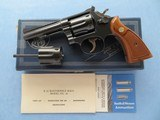 Smith & Wesson K-22 Masterpiece Magnum Rimfire Model 48-4 Sold
