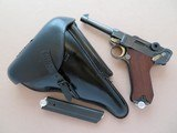1938 S/42 Mauser 9mm Luger w/ Holster, Tool, 2 Extra Mags** Nice Restored Shooter **