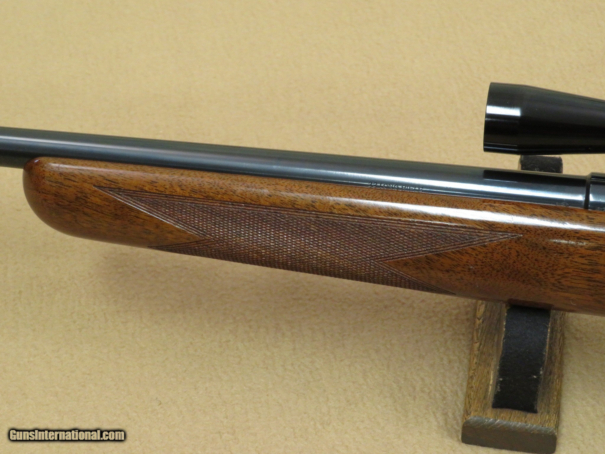 1969 Belgian Browning T-Bolt  22 Rifle w/ Vintage Browning