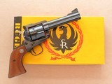 Ruger Old Model Blackhawk, 3-Screw, Cal. .357 Magnum with 9mm Cylinder, 4 5/8 Inch Barrel