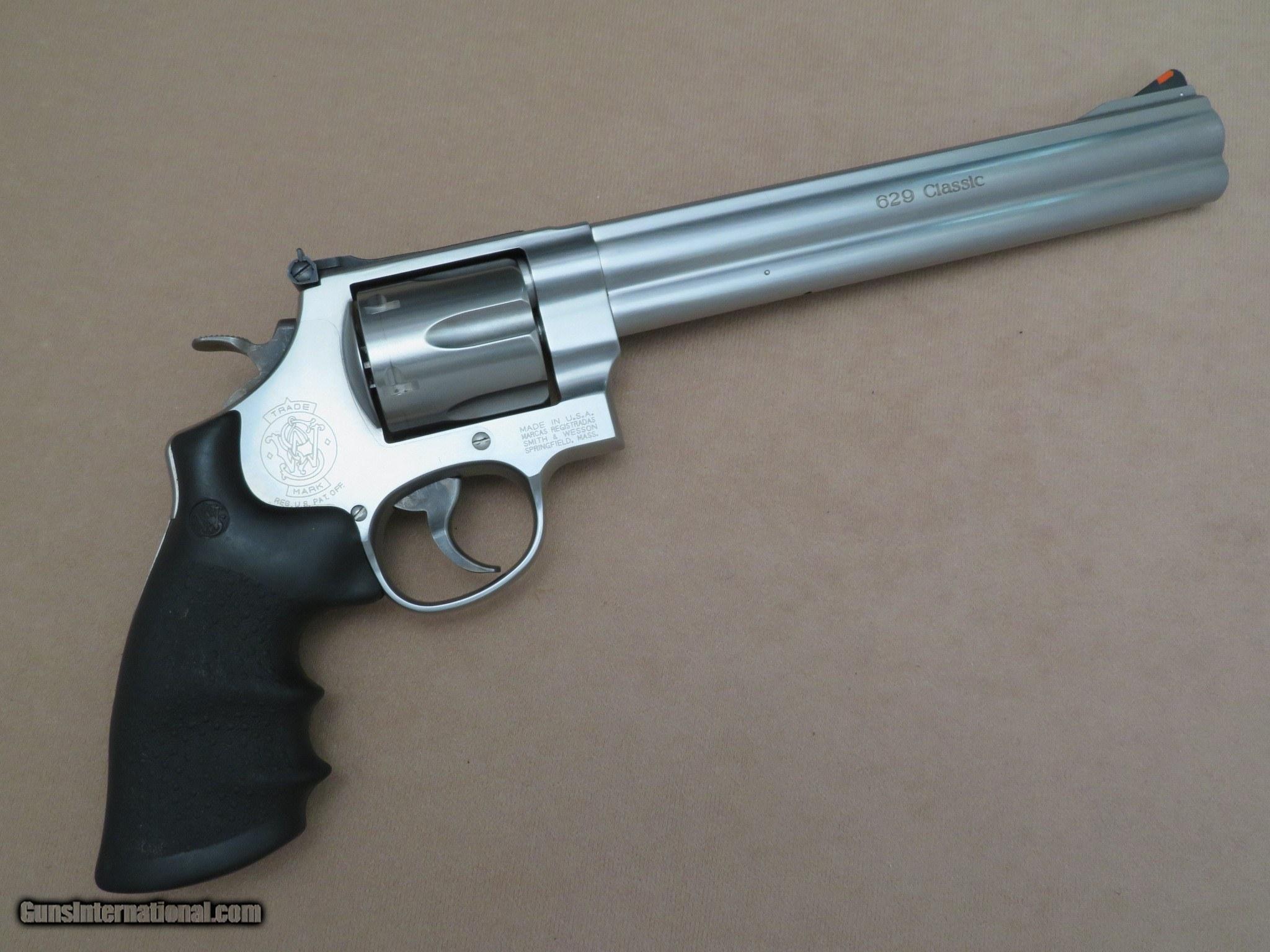 Smith & Wesson Model 629-5 Classic  44 Magnum Revolver w/ Scarce 8-3