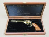 1969 Colt California Bicentennial Scout .22 Revolver in Factory Display Case