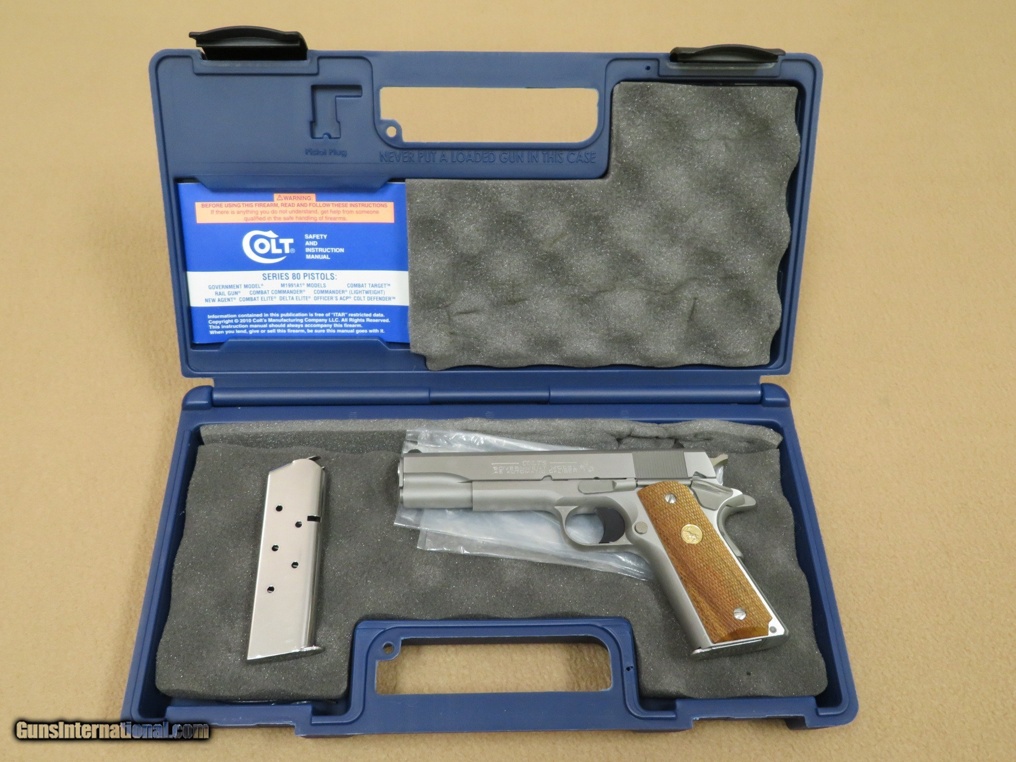 2013 Colt Government Model 0 1911  45 ACP in Brushed