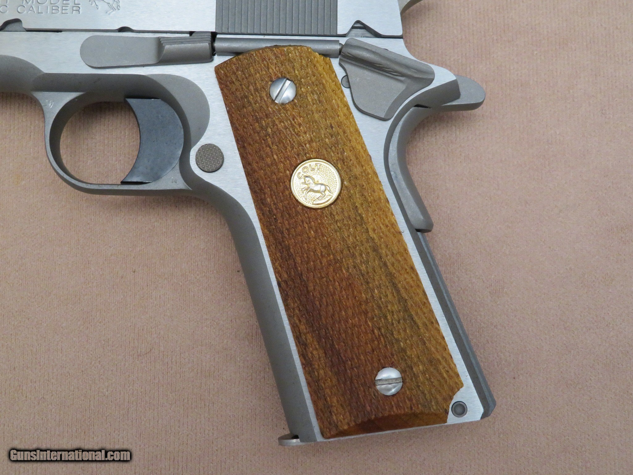 2013 Colt Government Model 0 1911  45 ACP in Brushed Stainless Steel