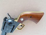 Ruger Blackhawk with Brass Grip Frame (Factory), Cal. .45 Long Colt, 4 5/8 Inch Barrel, with Factory Letter - 6 of 16