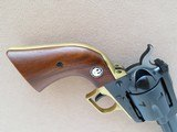 Ruger Blackhawk with Brass Grip Frame (Factory), Cal. .45 Long Colt, 4 5/8 Inch Barrel, with Factory Letter - 5 of 16