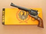 Ruger 3-Screw Old Model Blackhawk, Cal. 45 Long Colt, 7 1/2 Inch Barrel, 1970 Vintage, 1st Year Production