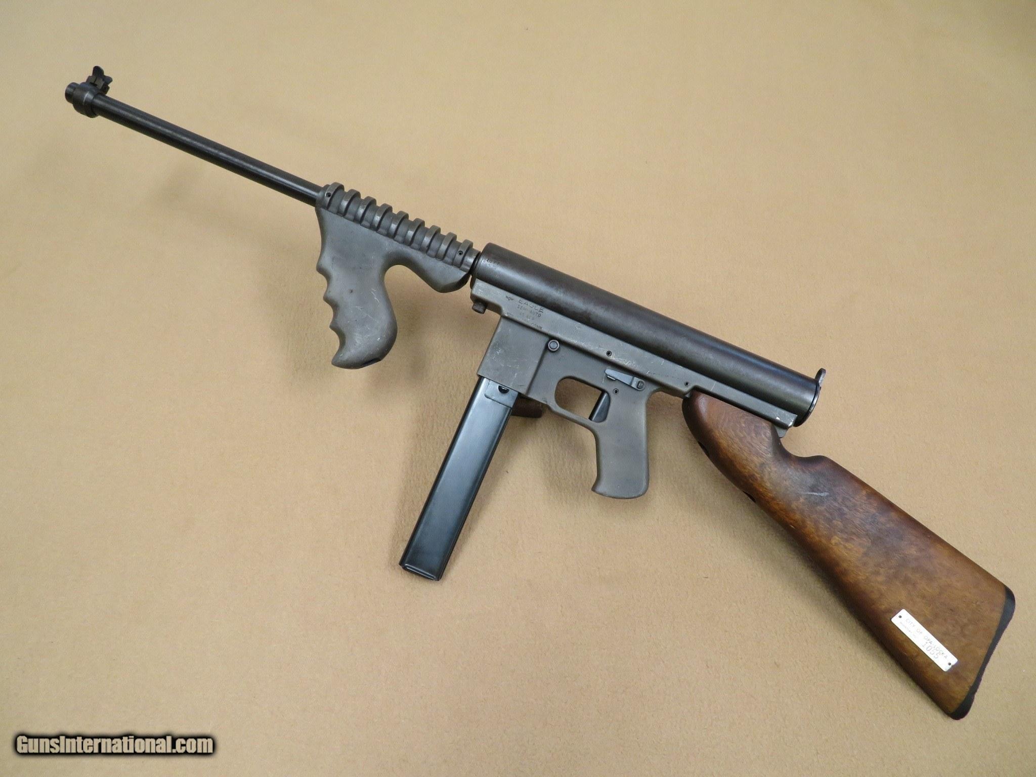 1960's Vintage Eagle Gun Co  Mark 1  45 ACP Police-Marked