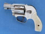 Smith & Wesson Model 49 (No Dash), with Ivory Grips, Cal. .38 Special