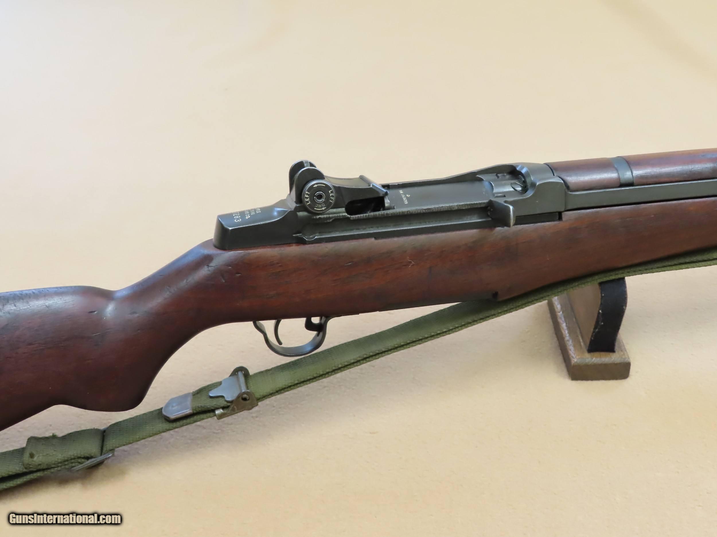 dating Springfield M1 Garand