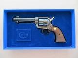 Colt Custom Shop Limited Edition SAA 44-40 Frontier Six Shooter 3rd Generation Black Powder Frame **ANIB MFG. 1993** - 23 of 25