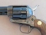 Colt Custom Shop Limited Edition SAA 44-40 Frontier Six Shooter 3rd Generation Black Powder Frame **ANIB MFG. 1993** - 5 of 25