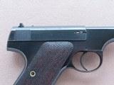 1928 Vintage 1st Series Colt Woodsman Target Model .22LR Pistol** Nice 1st Series Pistol ** - 7 of 25