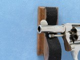 Colt Police Positive with Pearl Grips, Cal. .32, 1921 Vintage, 2 1/2 Inch Nickel Finished - 8 of 10