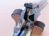 1970 Vintage Old Model Ruger Super Single Six .22 Revolver** Un-Modified Original Old Model ** SOLD - 24 of 25