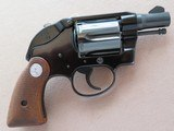 Colt Agent .38 Special (First Issue) W/ Factory Hammer Shroud **MFG. 1971**