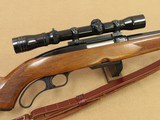 1962 Winchester Model 88 Lever-Action Rifle in .308 Winchester w/ Vintage Redfield 2-7X Wideview Scope & Sling SOLD
