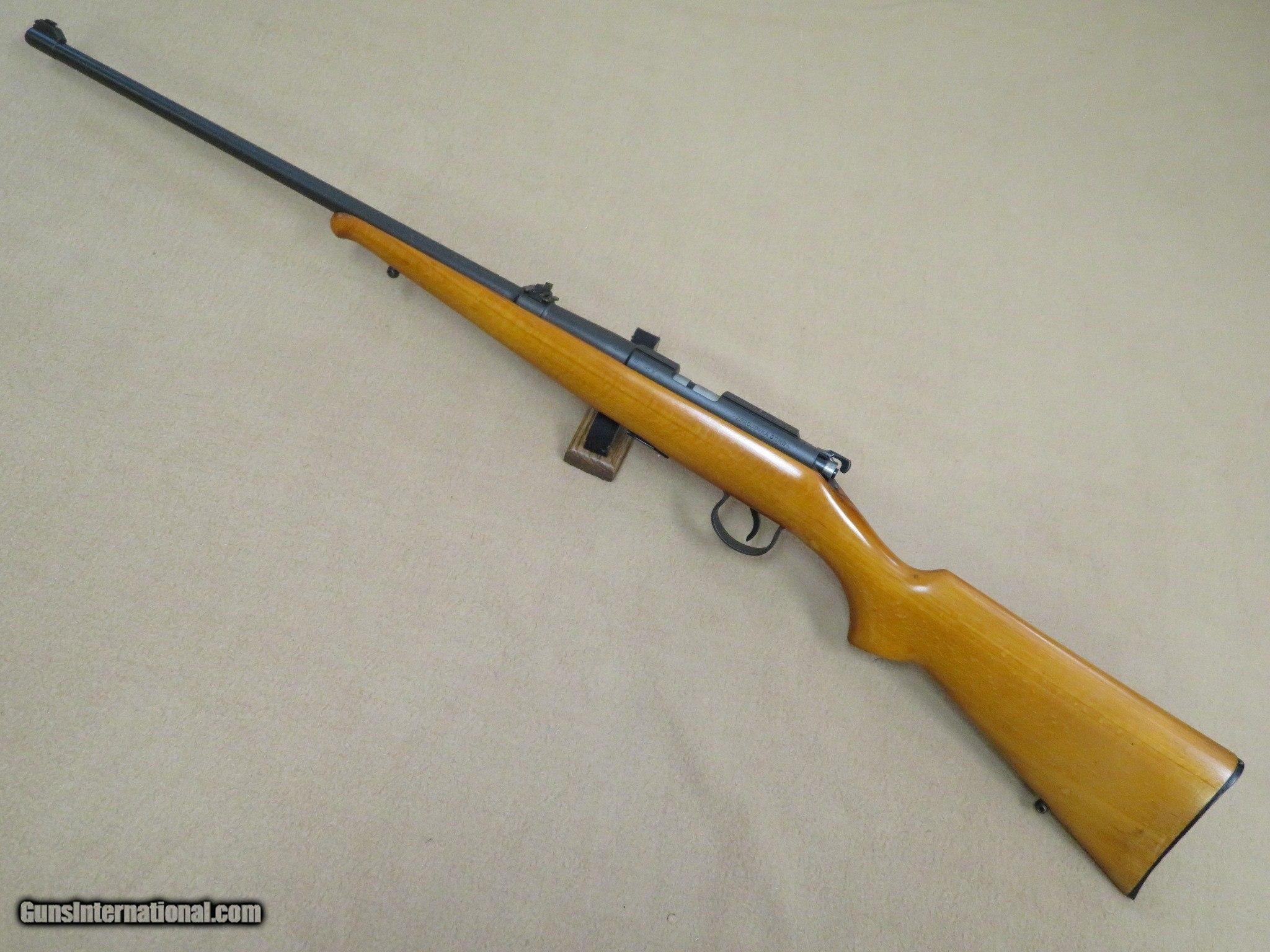 BRNO Model 1  22 L R  Bolt Action Sporting Rifle **Scarce**