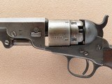 Colt Model 1862 Pocket Navy, London Marked, Cal. .36 Percussion SOLD - 3 of 9