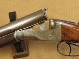 Beautiful 1894 Vintage Colt Model 1883 Double Barrel Hammerless 12 Ga. Shotgun** Spectacular Damacus Steel Barrels! ** - 25 of 25