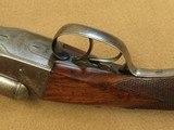 Beautiful 1894 Vintage Colt Model 1883 Double Barrel Hammerless 12 Ga. Shotgun** Spectacular Damacus Steel Barrels! ** - 24 of 25