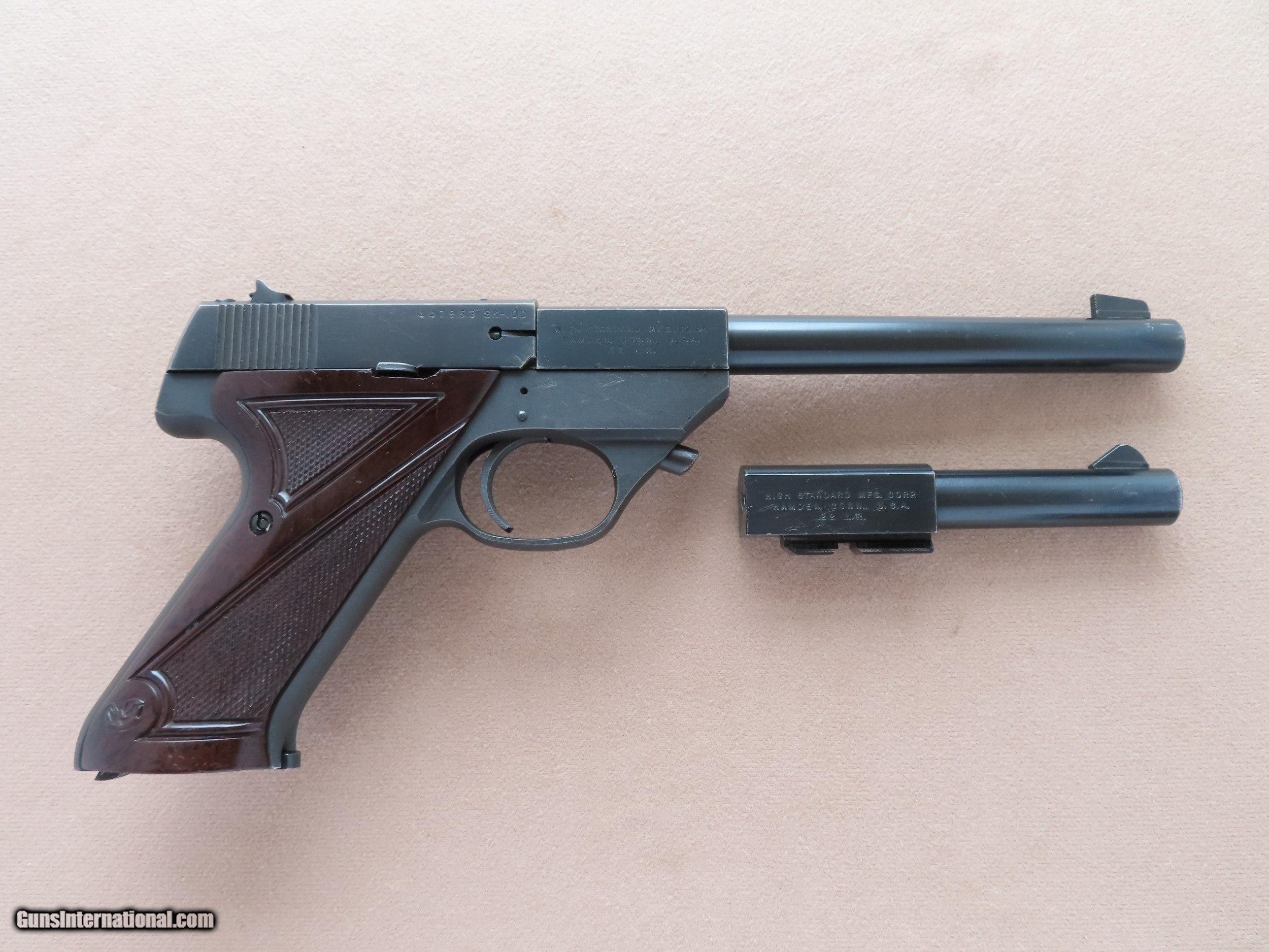 Late 1950's Vintage Hi Standard Sport King  22LR 100 Series Pistol