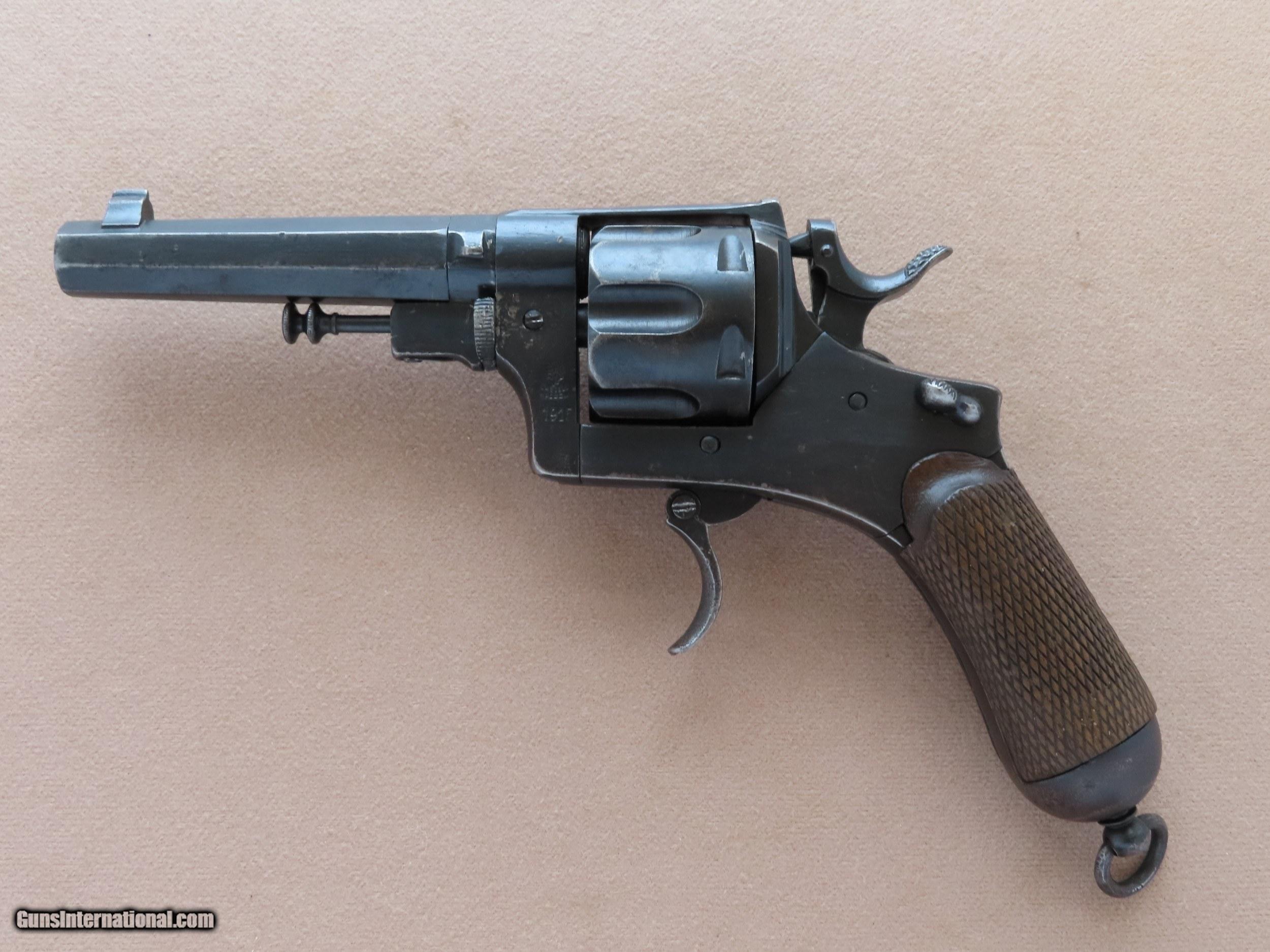 1bd0cbac9946 Italian Model 1889 Bodeo Revolver w/ Folding Trigger in 10.35mm ...